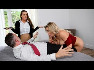 Abigail Mac, Amber Jade - Amber In The Hills: Part 2 (Threesome