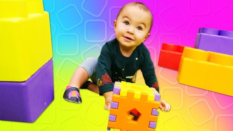 Lehrreiches Video auf Deutsch für Kleinkinder Die Spielzeugkiste Der Spielzeug Würfel