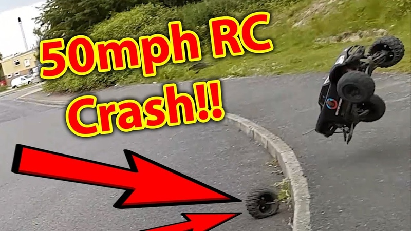 Kev's RC Car Crash Bash Compilation VOL 2