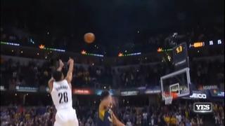 Spencer Dinwiddie game winner - Nets vs Pacers
