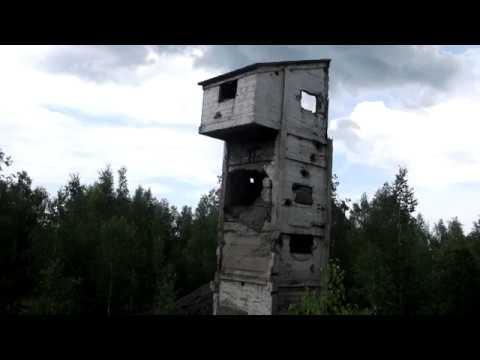 Путешествие по Хакассии 3 Туимский провал и развалины скипового подъемника