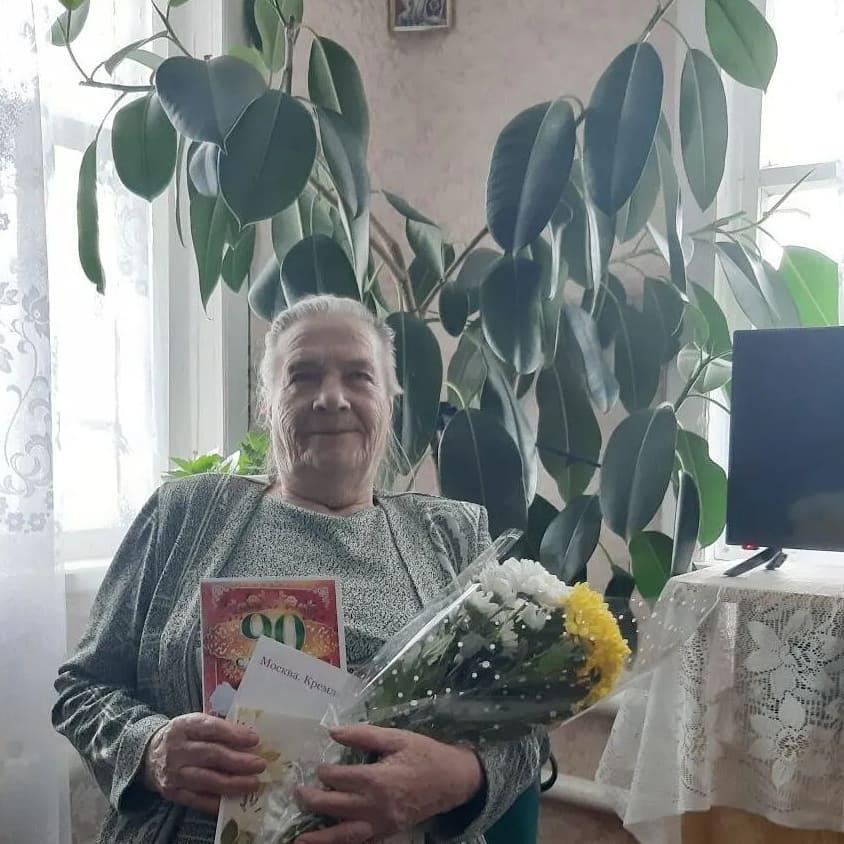 Сегодня 90-летие отмечает петровчанка Клавдия Андреевна ГРИГОРЬЕВА