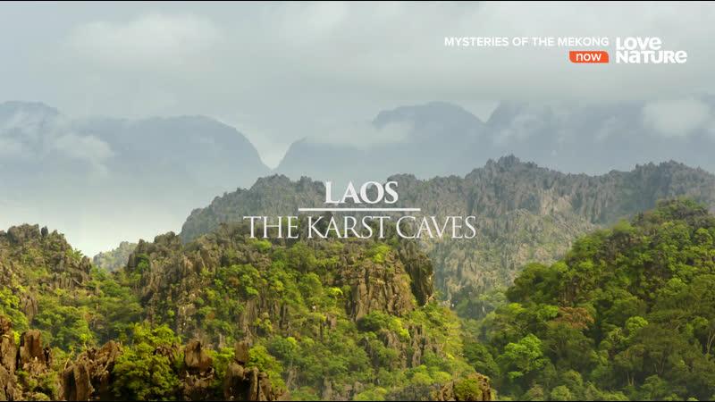 Тайны реки Меконг Лаос Карстовые пещеры 4 серия из 10 2017 HD 1080