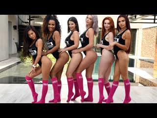 Demi Sutra & Vina Sky & Sabina Rouge & Lacy Lennon & Gabbie Carter & LaSirena69
