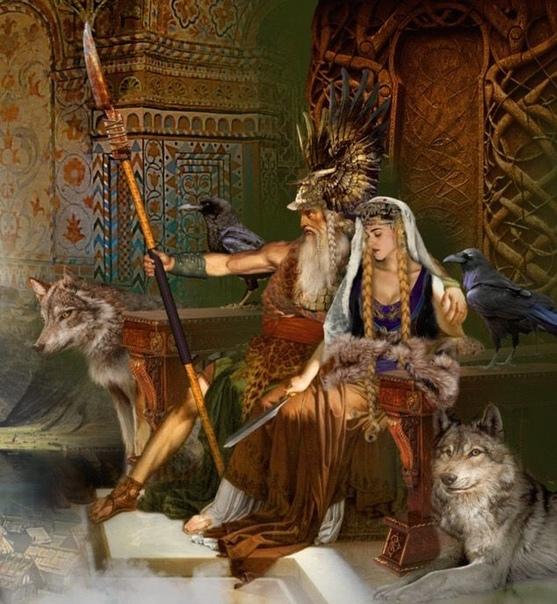 Фото анимация боги северного пантеона вот