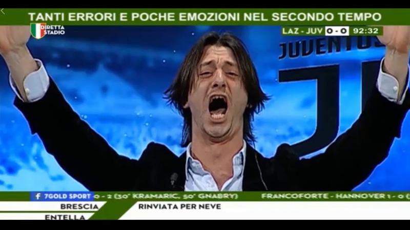 DIRETTA STADIO | LAZIO - JUVE 0-1 | Goal di Dybala e Oppini si strappa i capelli!