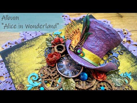 Альбом Алиса в стране чудес / Album Alice in Wonderland