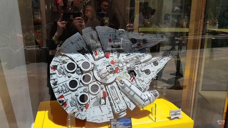 CỬA HÀNG ĐỒ CHƠI LEGO SỐ 1 THẾ GIỚI CỰC ĐỈNH TẠI NEW YORK   VIRUSS LEGO STORE