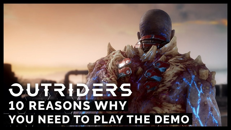 10 Reasons Why You Need To Play The Outriders Demo PEGI