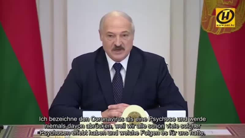 P Weißrussland Coronavirus Zivilisierte Welt unseres Planeten hat komplett den Verstand verloren