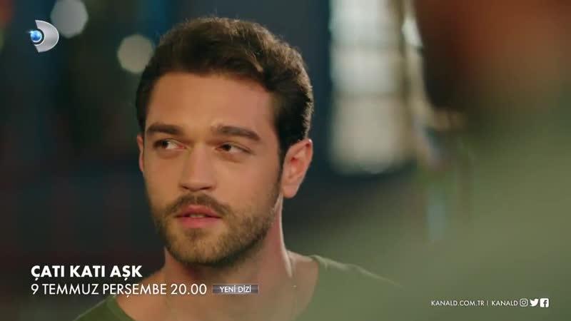 Büyük aşklar nefretle başlar. - ÇatıKatıAşk, 9 Temmuz Perşembe 20.00'de KanalD'de başlıyor! @CatiKatiAsk
