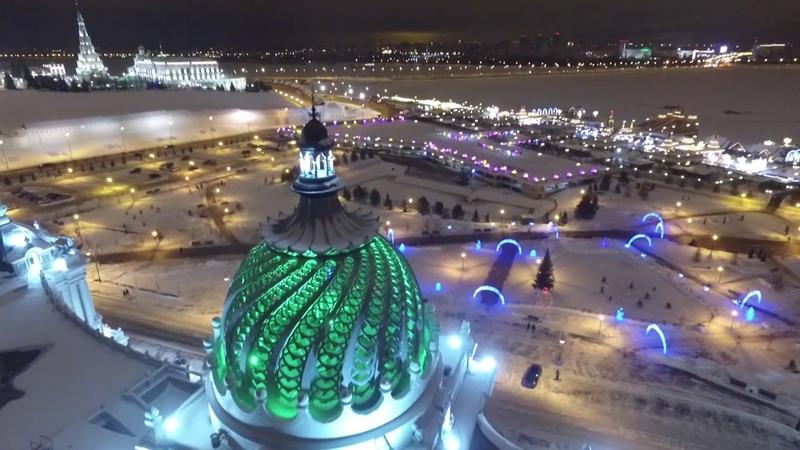 Аэросъемка. С Новым Годом, Казань!! Happy New Year, Kazan!!