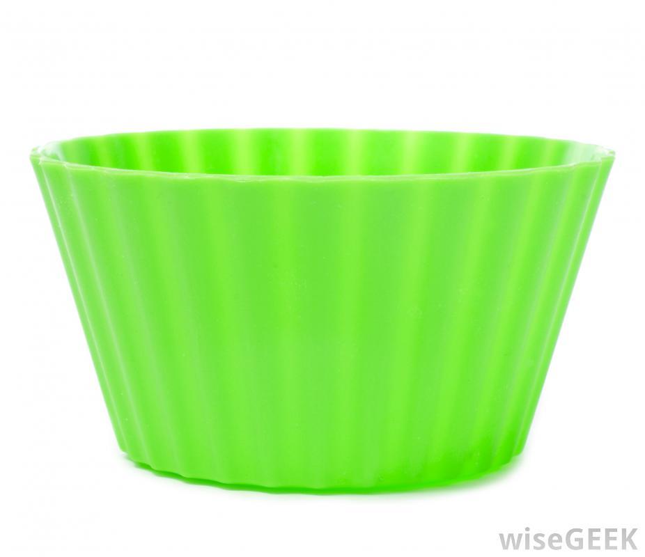 Множество форм для выпечки, таких как формы для кексов, теперь сделаны из силикона.