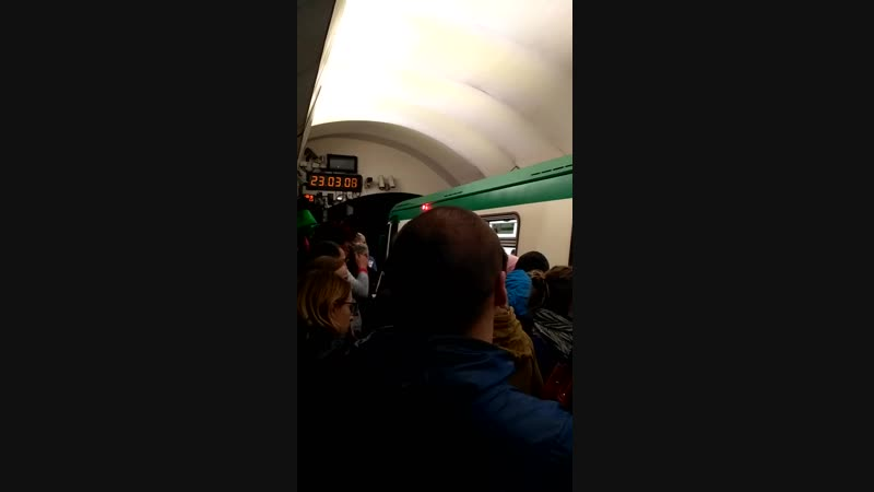 суета в метро