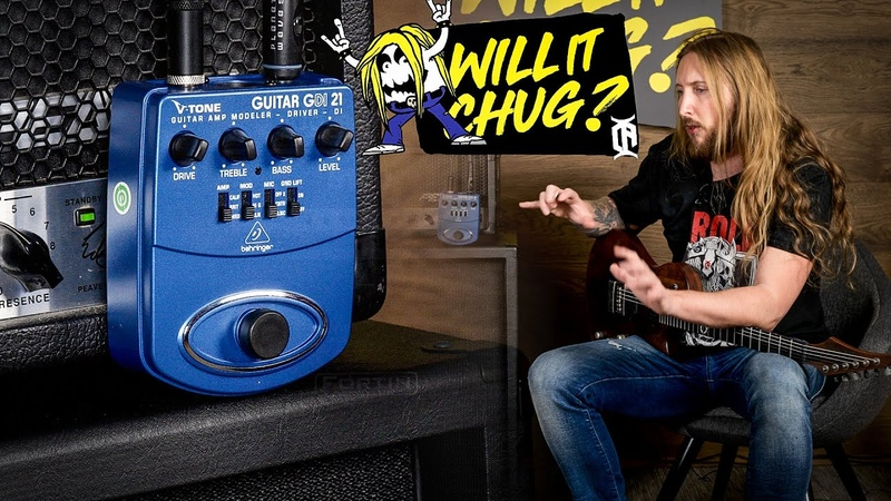 WILL IT CHUG Behringer V Tone Guitar GDI 21