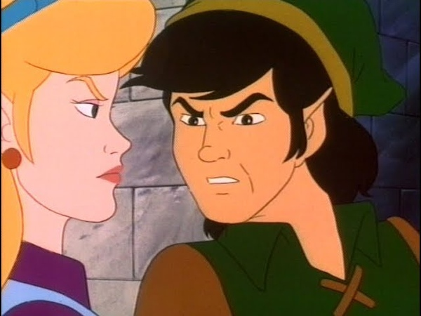 Link says Well, excuse me, princess! way too many times | The Legend of Zelda Cartoon Series