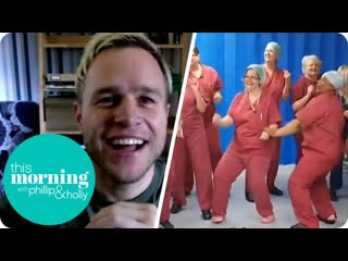This Morning Olly Murs Speaks to NHS Stars of Ant and Dec's Saturday Night Takeaway