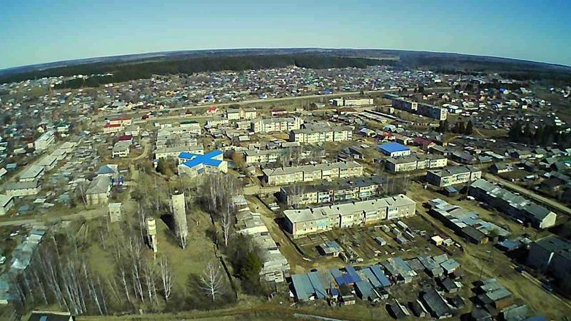 Полёт село Карагай Стадион Пермский край Hubsan H502S