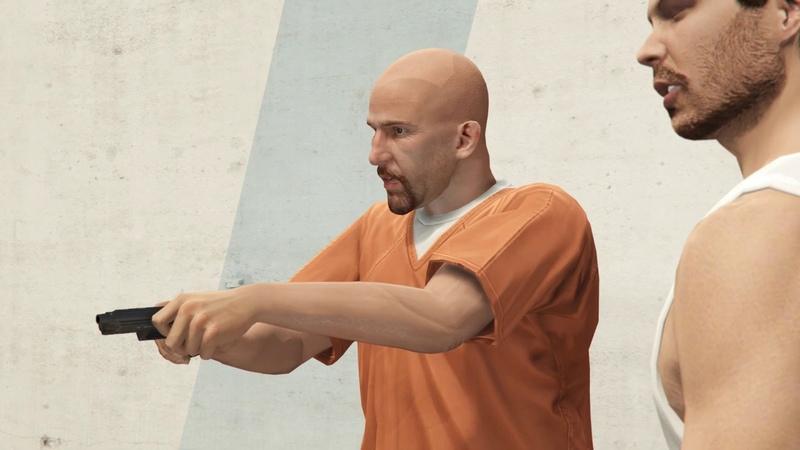 Залетели на ограбление с Рашковским в Grand Theft Auto V