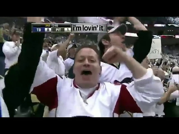 Alex Kovalev last NHL playoff goal in game 1 vs Lightning 2011