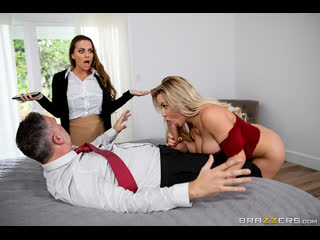Brazzers - Amber In The Hills Part 2 / Abigail Mac, Amber Jade & Keiran Lee