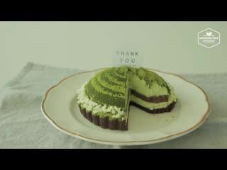 Green tea Tiramisu tart, Matcha tart - Cooking tree