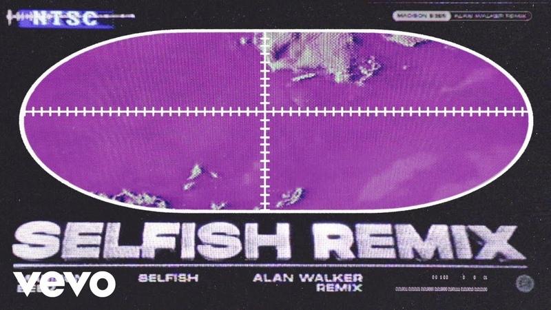 Madison Beer Selfish Alan Walker Remix Visualizer