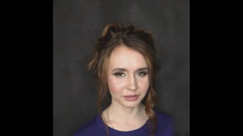 Урок макияжа для себя для Анны » Freewka.com - Смотреть онлайн в хорощем качестве