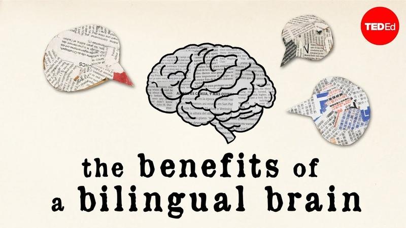 The benefits of a bilingual brain - Mia Nacamulli