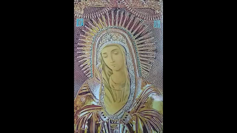 Канон иконе матери Божией Умиления ( о здравии, о деторождении)