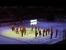 Платинум-Арена - пред матчевое шоу ХК Амур - ХК Динамо Рига. 17.09