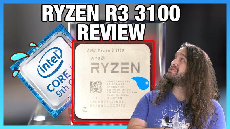 [EN] Обзор процессора AMD Ryzen 3 3100 разгон, игровые и тесты в приложениях (сравнение в том числе и с 7700K)