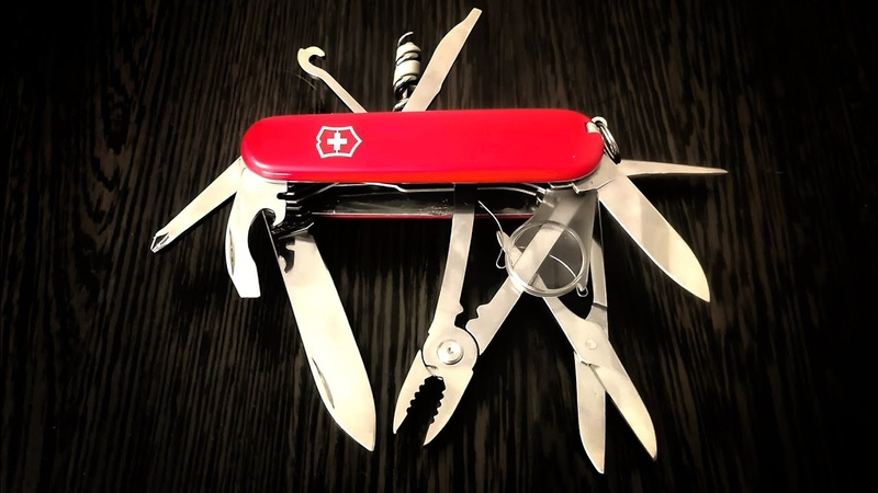 Лучший нож Victorinox кастом смесь Alox Poineer и SwissChamp на базе Victorinox Yoman