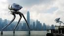 War of the Worlds - Dancing Alien Tripods over Hong Kong