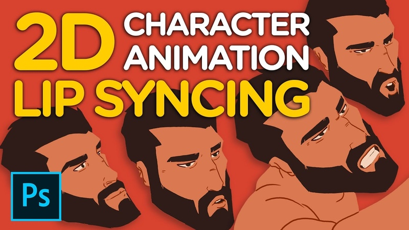 2D Character Animation Lip Syncing