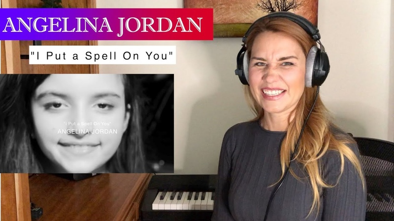 Vocal Coach Opera Singers REACTION ANALYSIS Angelina Jordan I Put a Spell On You