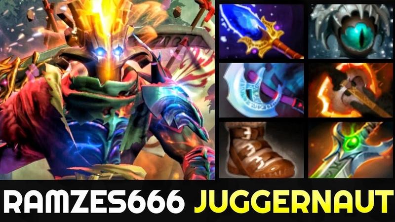 RAMZES666 Juggernaut 0 Death Boss with Scepter Build Dota 2