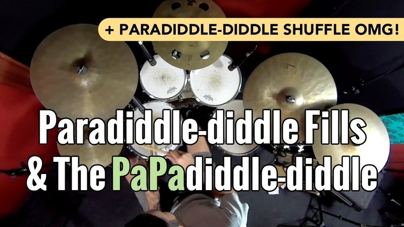 Sick Licks Paradiddle diddle Fills The PaPadiddle diddle
