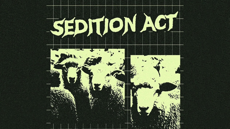 Sedition Act Demo 2019