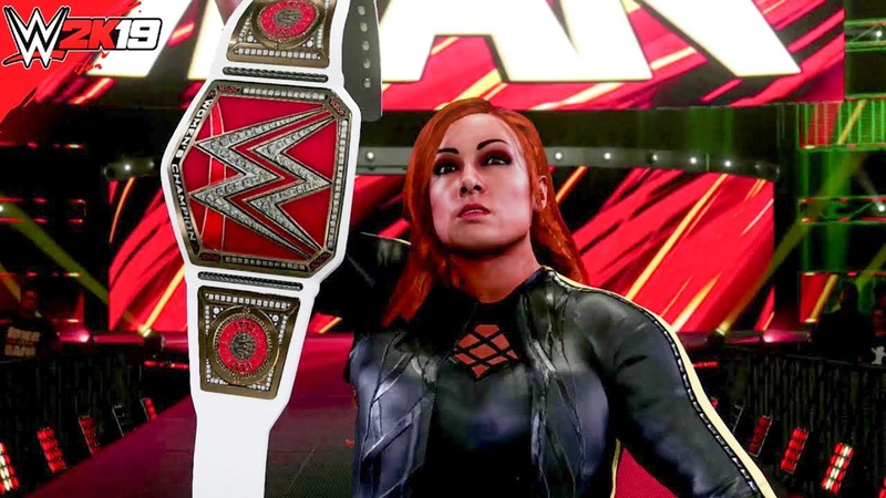 Becky Lynch 2020 New Updated Entrance GFX WWE 2K19 PC Mods