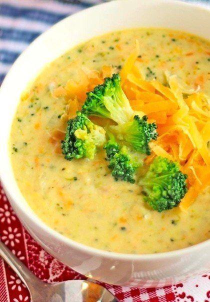 Сырный суп (с шампиньонами и брокколи).Ингредиенты:•...