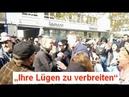 Das hat nichts mit Religion zu tun - Linker Gegendemonstrant bei BPE in Offenbach