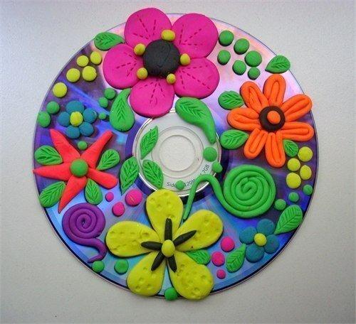 ЛЕПКА На компакт дисках