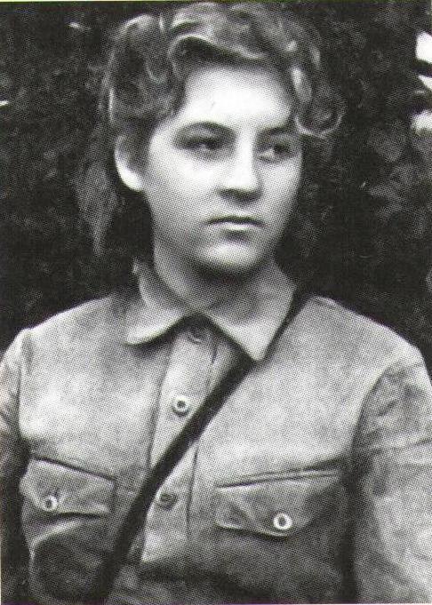 Радистка С.К. Паасо в годы войны