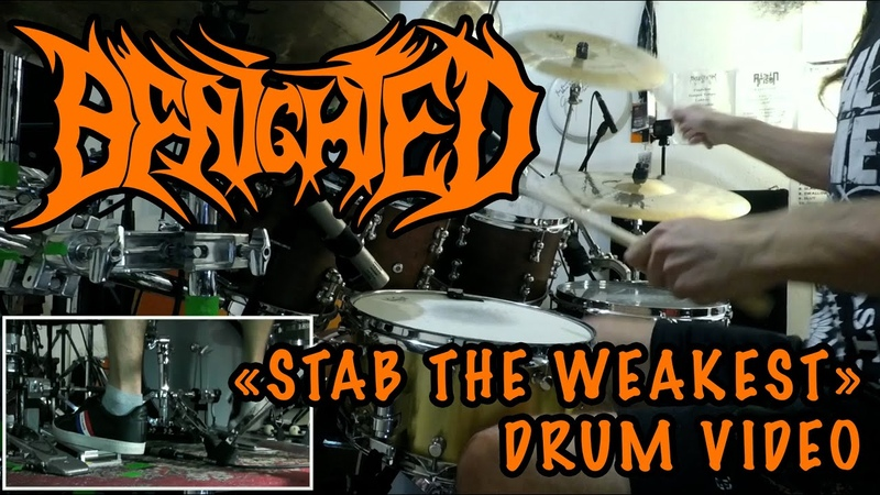 BENIGHTED -- STAB THE WEAKEST -- **HALLOWEEN SPECIAL** -- DRUMS VIDEO