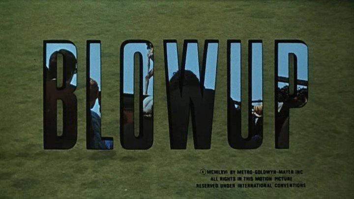 Blow-Up (1966) | Full Movie | w/ David Hemmings, Vanessa Redgrave, Sarah Miles | Dir: Michelangelo Antonioni