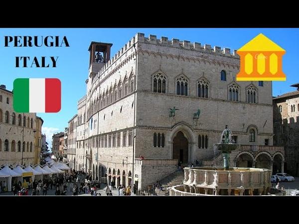 PERUGIA Italy's most stunning square 😲 Piazza IV Novembre in Perugia