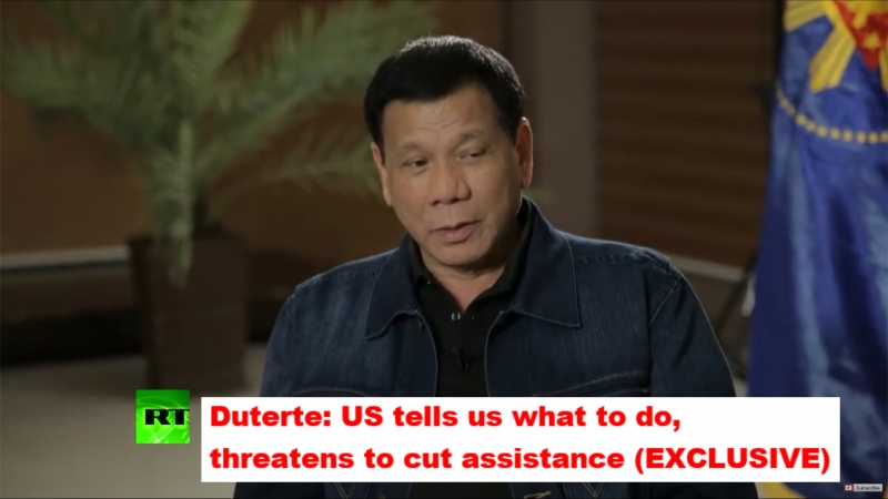 Duterte US tells us what to do, threatens to cut assistance (EXCLUSIVE)
