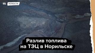 Путин недоволен реакцией властей на разлив топлива в Норильске