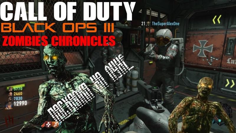 COD Black Ops 3 Zombies Chronicles Проходим Пасхалку на Луне 1 1440p 60 fps
